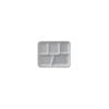 WHITE FOAM TRAY 5 COMP DARNEL DU2014501