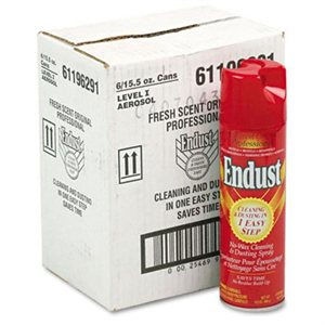 Endust Aerosol Furniture Cleaning
