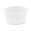2OZ DART 200PC PORTION CLEAR CUP 2500/CS