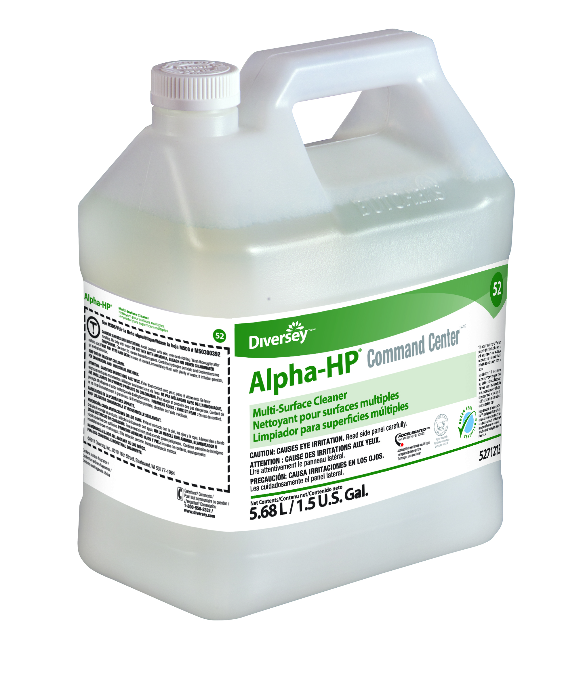 ALPHA HP RTD MULTI SURFACE CLEANER 5 LITER #52 JWX 3350743