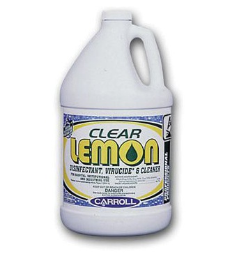 Clear Lemon Disinfectant Cleaner