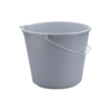 10 Qt Round Gray Bucket
