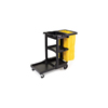 JANITOR CART W/ 25 GAL ZIPPPERED BAG RCP6173