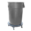 44 GAL CONTAINER IMPACT 7744-11R BLUE W/RECYCLE LOGO