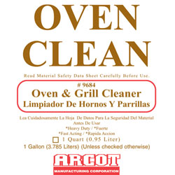 Arcot Oven & Grill Cleaner
