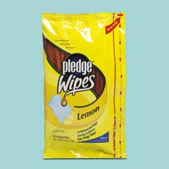 Pledge Lemon Wipes