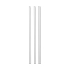 "WOW JUMBO STRAW WRAPPED CLEAR 7.75"" 92DSJWCL 24X500"
