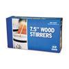 "7.5"" WRAPPED WOOD STIRRERS 500/BX R825W"