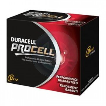 D Duracell Battery 12 Pack
